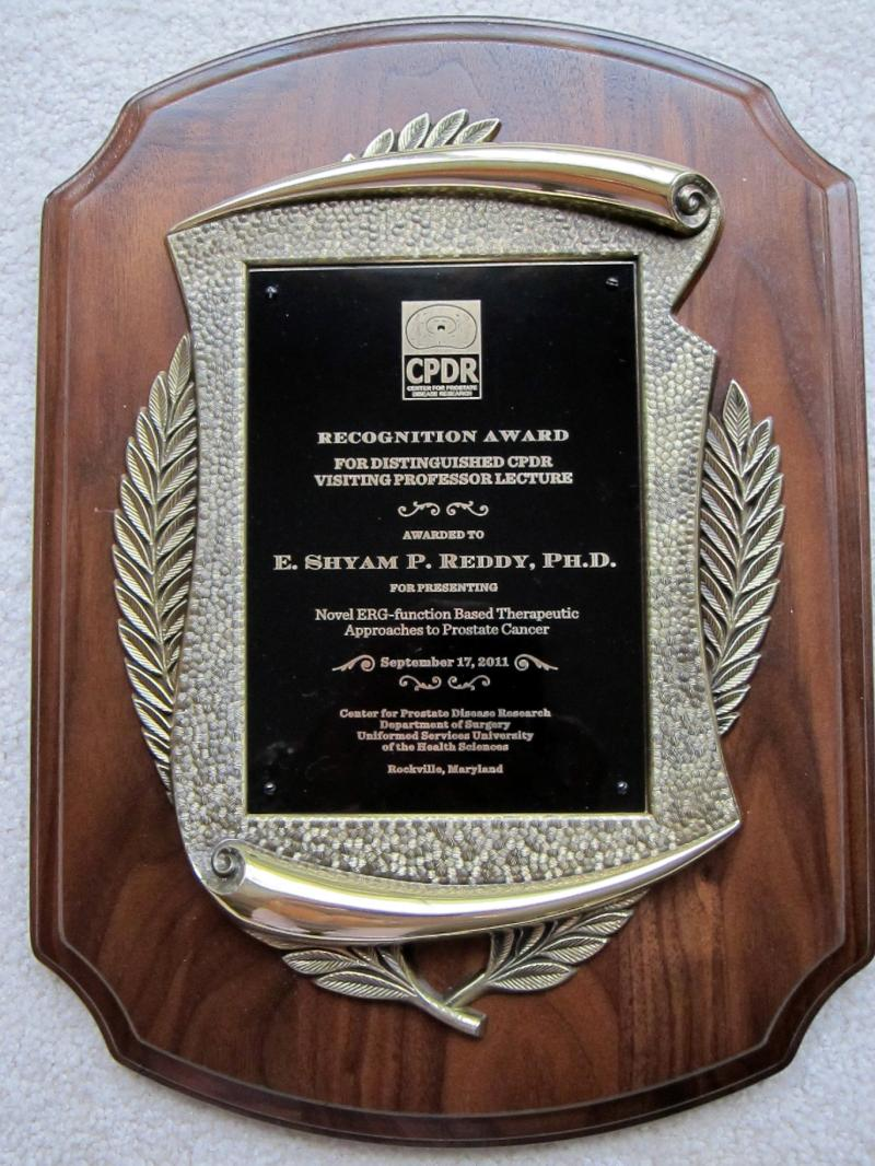 CPDR RECOGNITION AWARD
